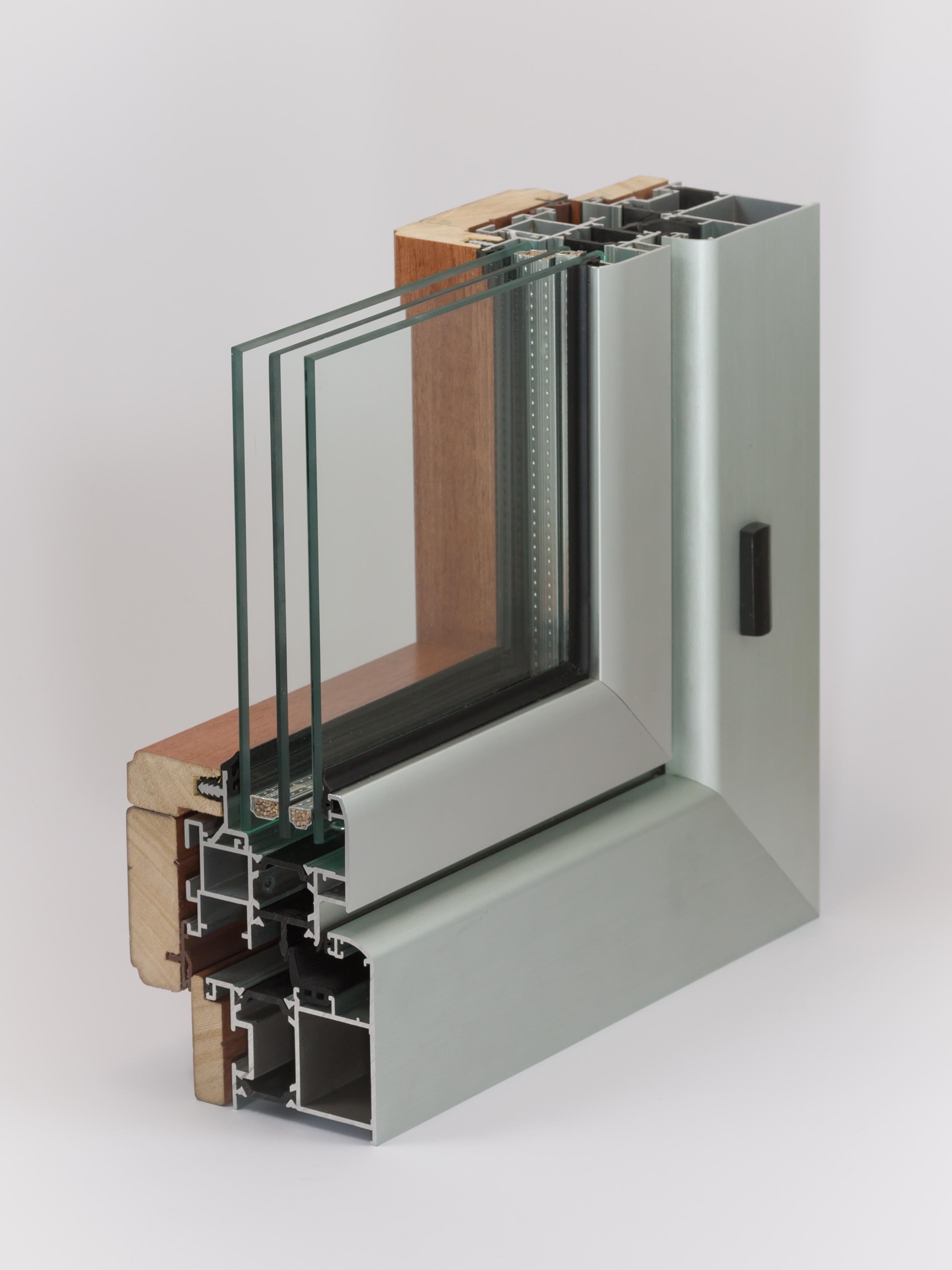 Aluminiumfenster | Dreifachverglasung